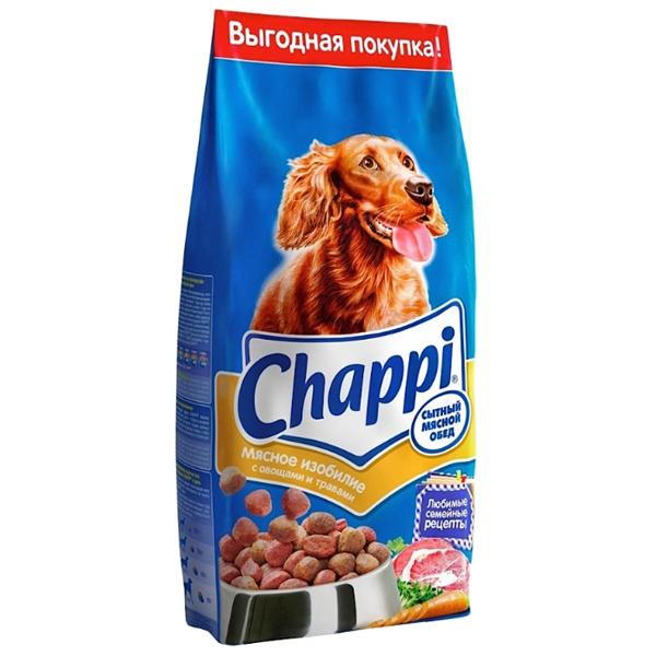 Корм сухой CHAPPI мясное изобилие для взрослых собак всех пород 0.6кг