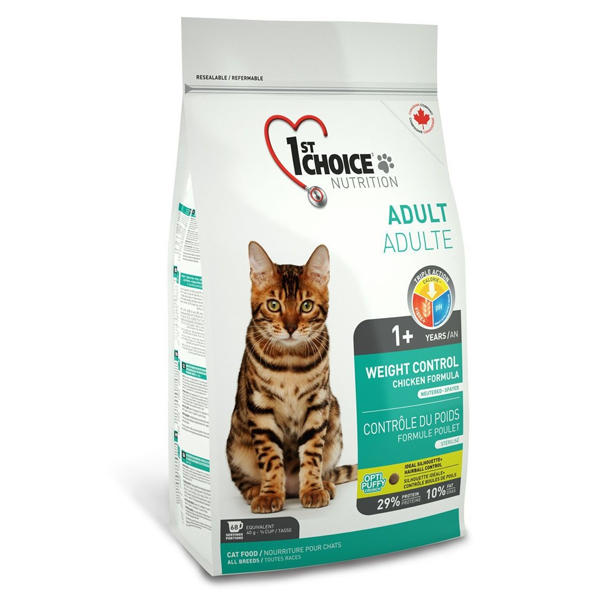 Корм сухой 1st Choice Adult Weight Control  для кошек с курицей 0.35кг